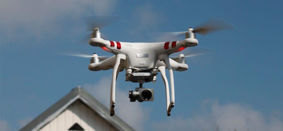 Seguridad a través de drones